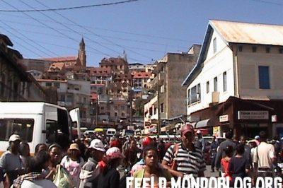 Quartier Analakely Antananarivo ©feeld
